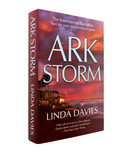 Ark Storm eco-terrorism thriller by Linda Davies author of Nest of Vipers