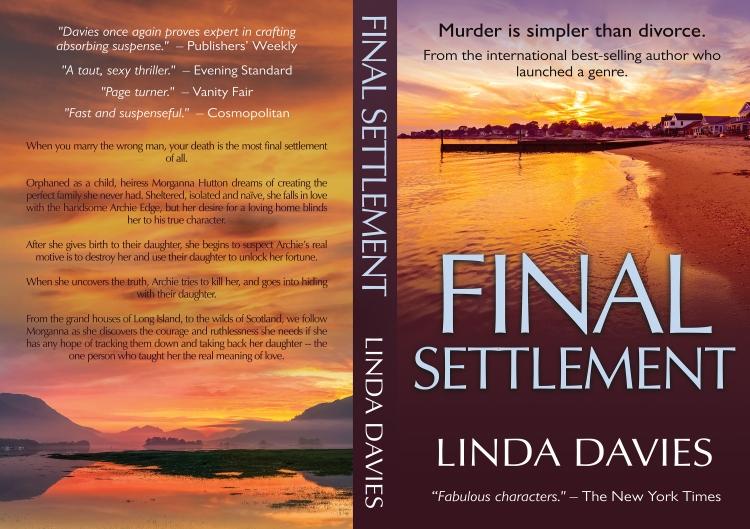 Final Settlement murder divorce kidnap revenge thriller by Linda Davies