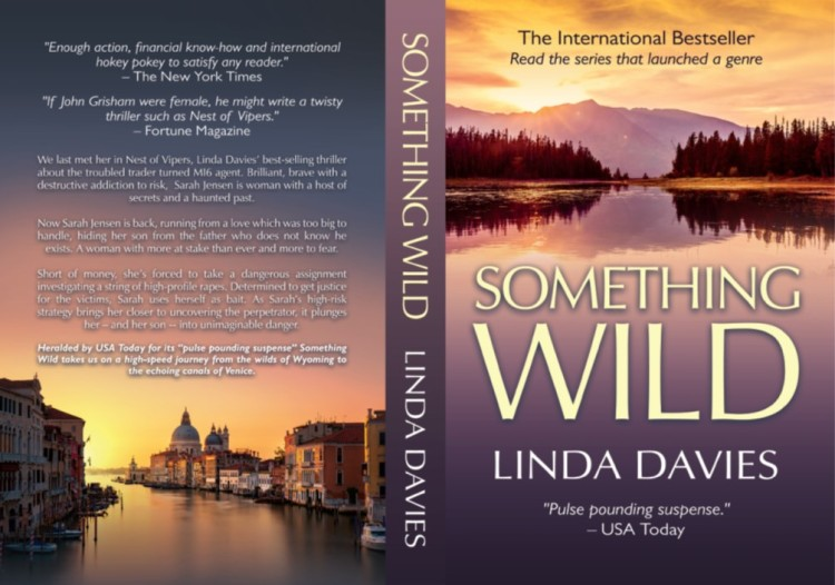 Something Wild rockstar financial Bowie Bond thriller by Linda Davies