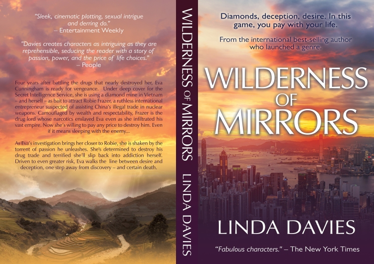 Wilderness of Mirrors drug diamond crime thriller Vietnam by Linda Davies